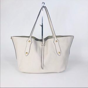 Annabel Ingall Isabella Small Tote Bone Leather